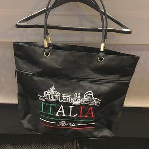 Nylon souvenir bag from Rome Italy